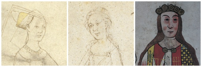 Portraits of Anne Beauchamp, Countess of Warwick