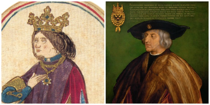 Right portrait: Wikipedia Commons